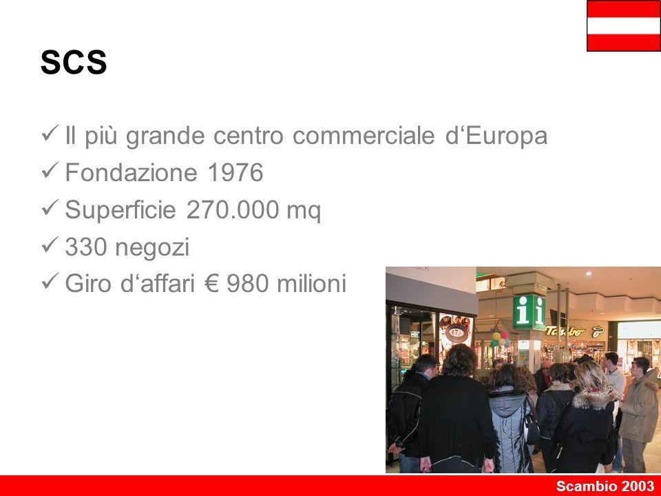 SCS Il più grande centro commerciale d'Europa Fondazione 1976