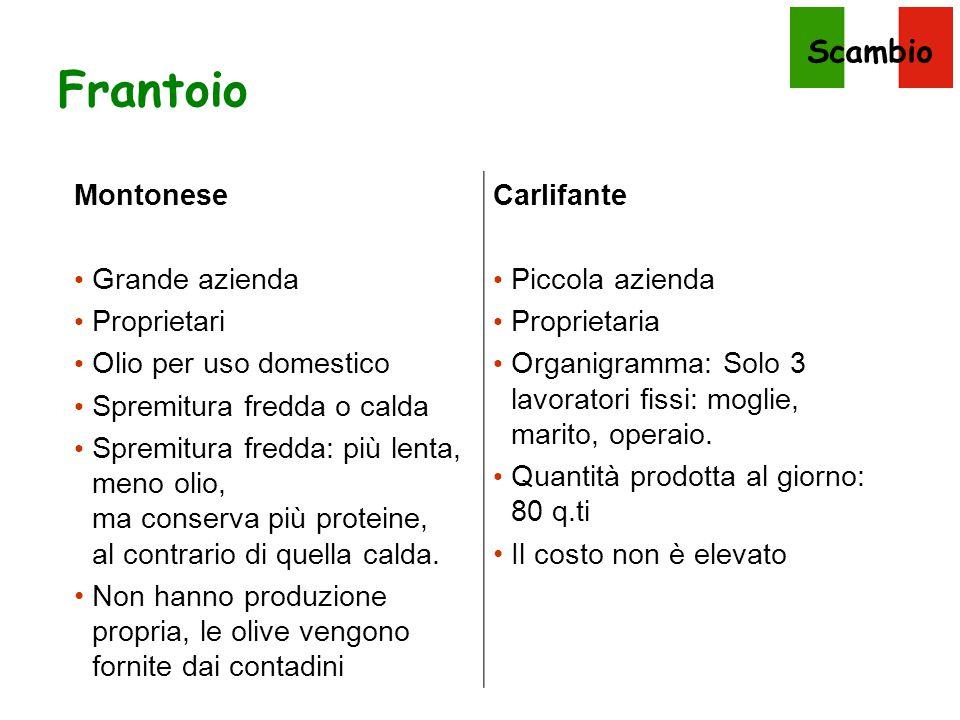 Frantoio Montonese Grande azienda Proprietari Olio per uso domestico
