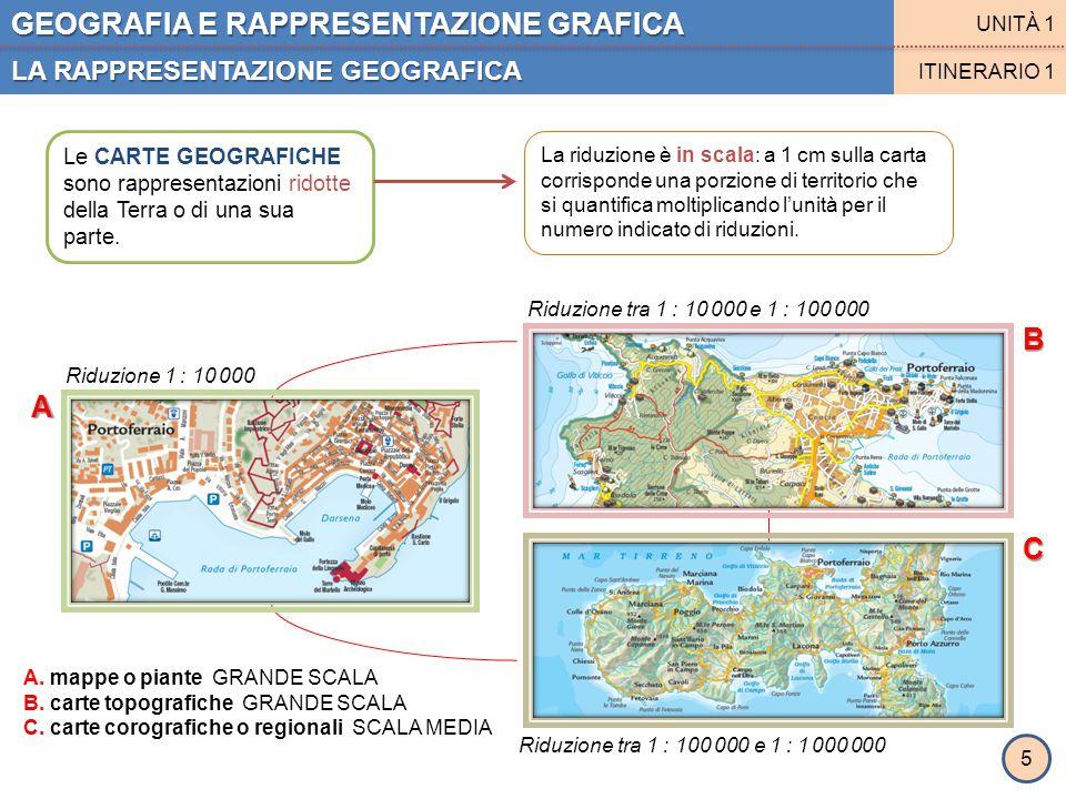 GEOGRAFIA E RAPPRESENTAZIONE GRAFICA