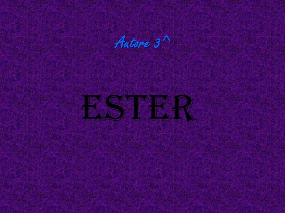 Autore 3^ Ester