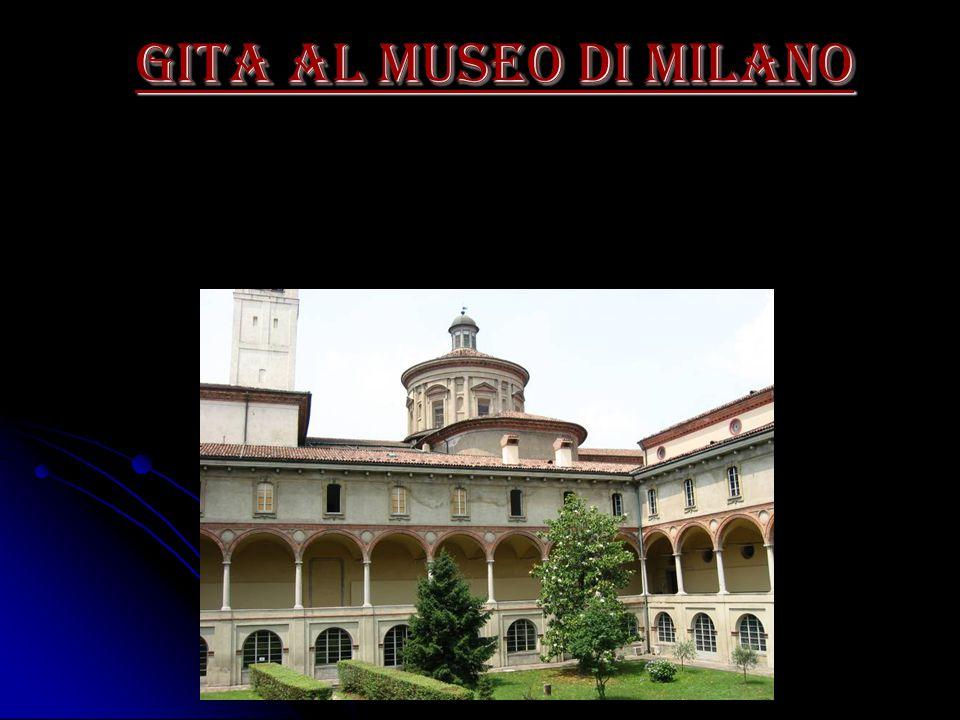 gita al museo di Milano