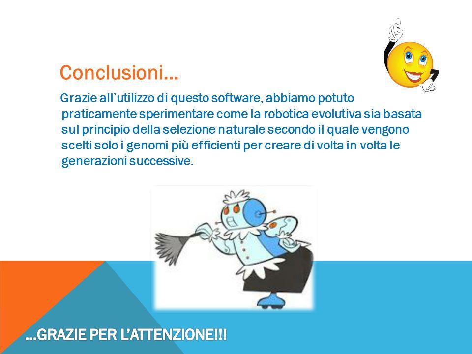 Conclusioni… …GRAZIE PER L'ATTENZIONE!!!