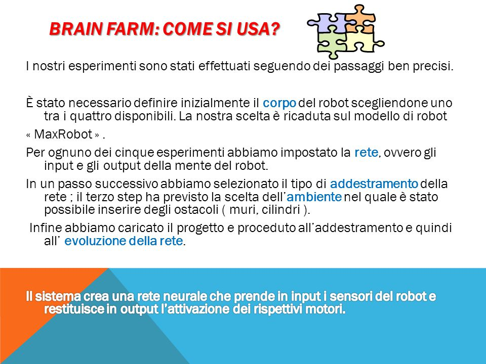 Brain farm: come si usa