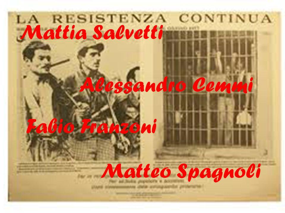 Mattia Salvetti Alessandro Cemmi Fabio Franzoni Matteo Spagnoli