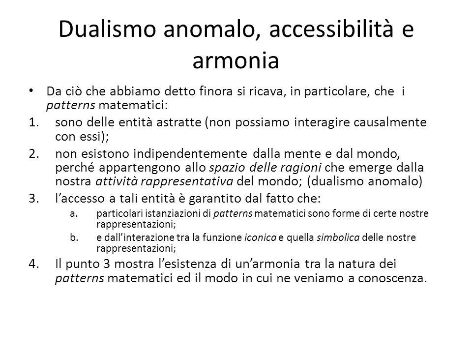 Dualismo anomalo, accessibilità e armonia