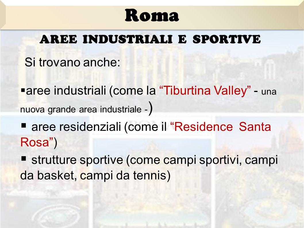 Aree industriali e sportive