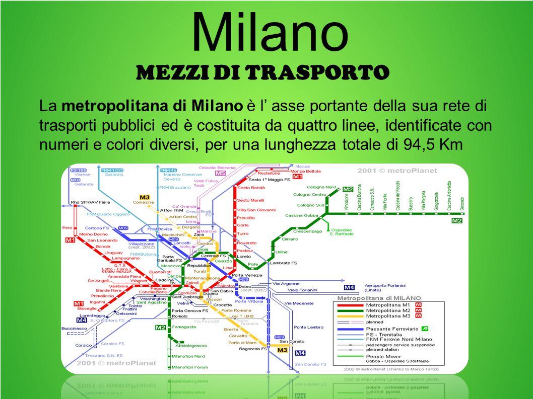 Milano Mezzi di trasporto