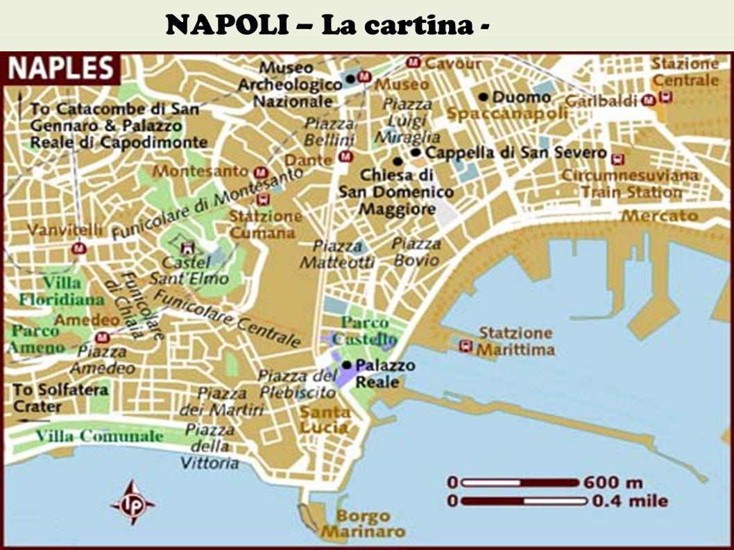 NAPOLI – La cartina -