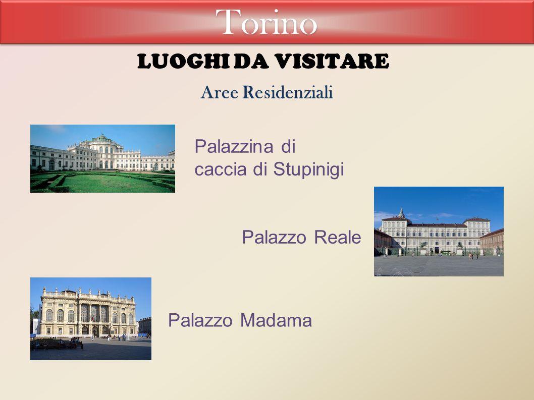 Torino LUOGHI DA VISITARE Aree Residenziali