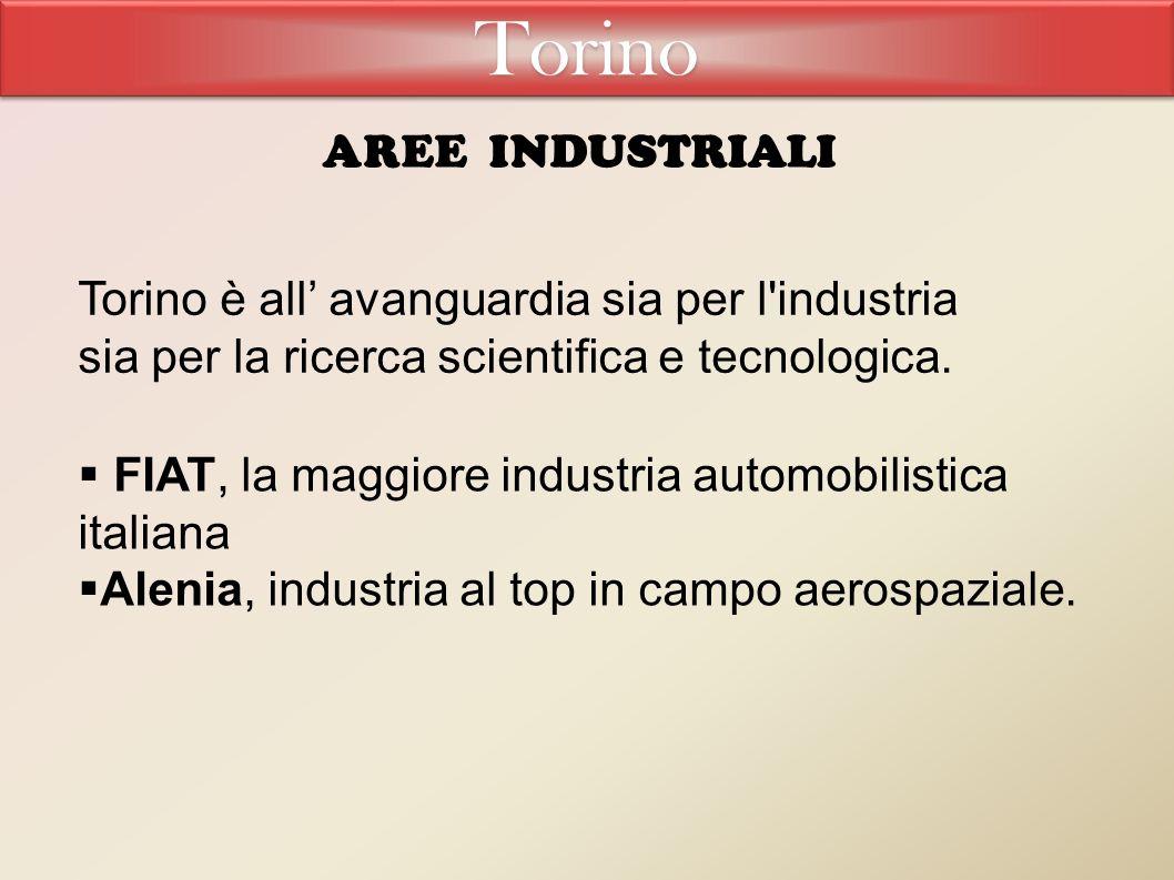 Torino Aree industriali