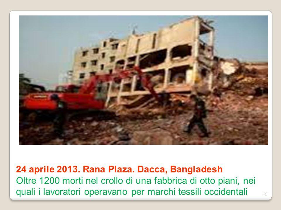 24 aprile 2013. Rana Plaza. Dacca, Bangladesh