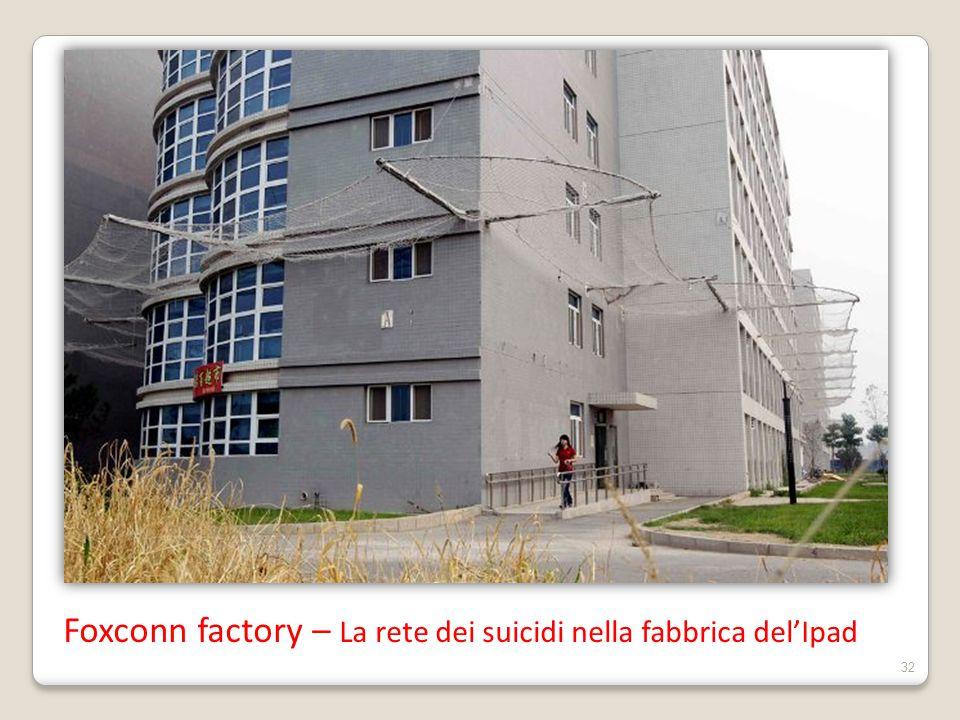 Foxconn factory – La rete dei suicidi nella fabbrica del'Ipad