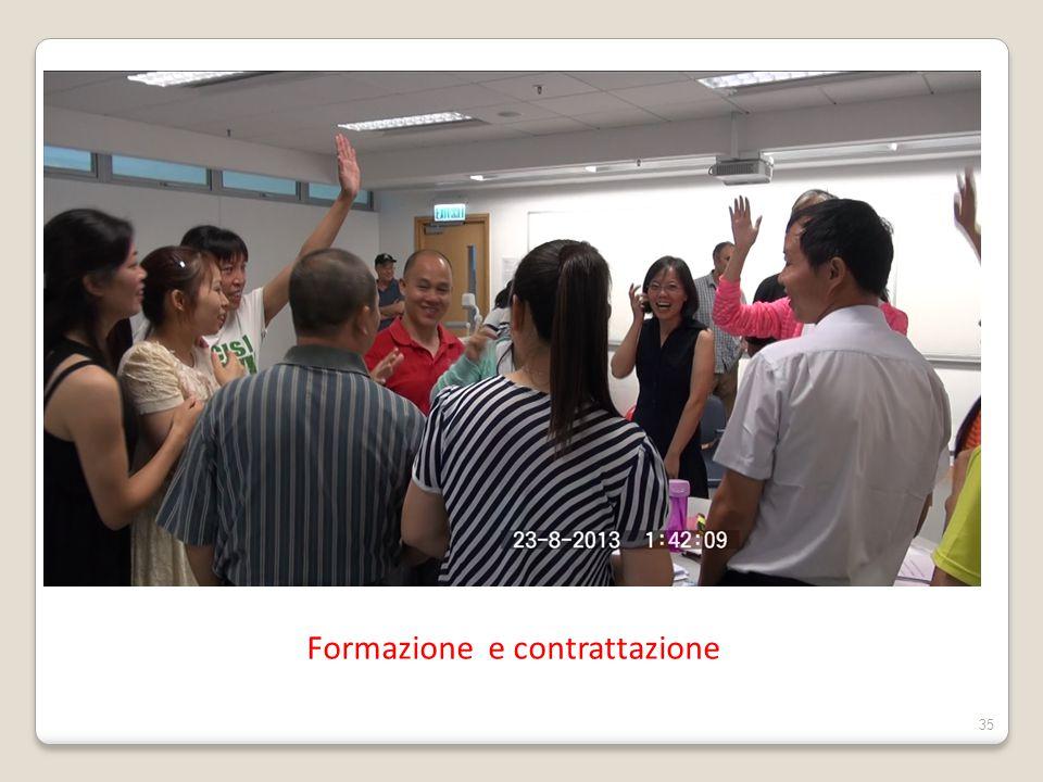 Formazione e contrattazione