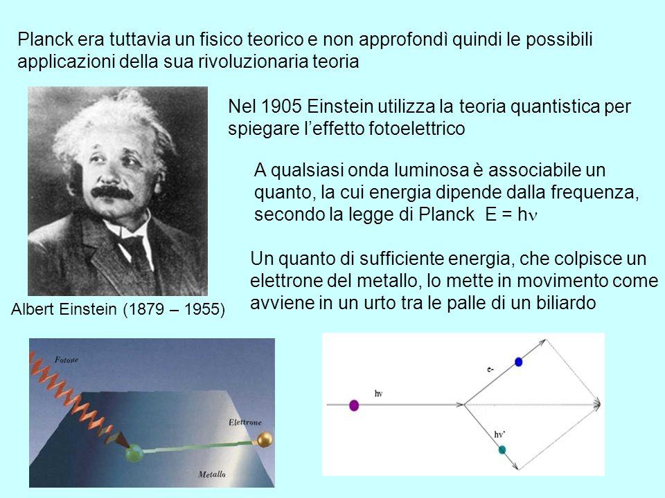 Planck era tuttavia un fisico teorico e non approfondì quindi le possibili applicazioni della sua rivoluzionaria teoria