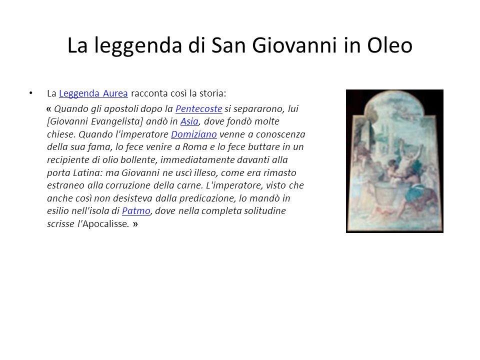 La leggenda di San Giovanni in Oleo