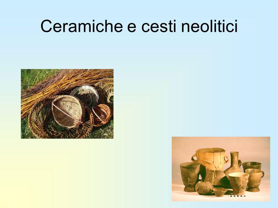 Ceramiche e cesti neolitici