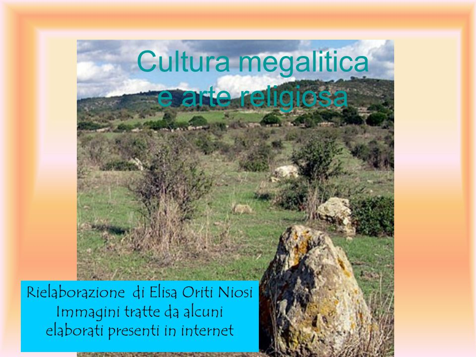 Cultura megalitica e arte religiosa
