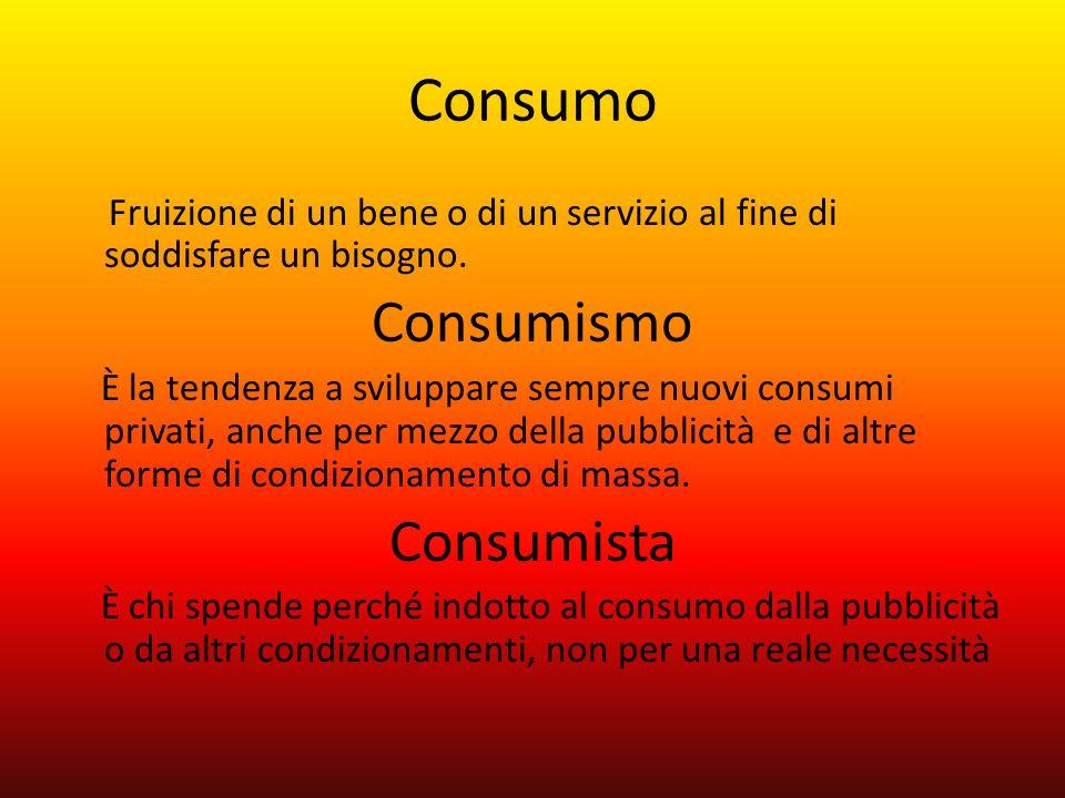 Consumo Consumismo Consumista