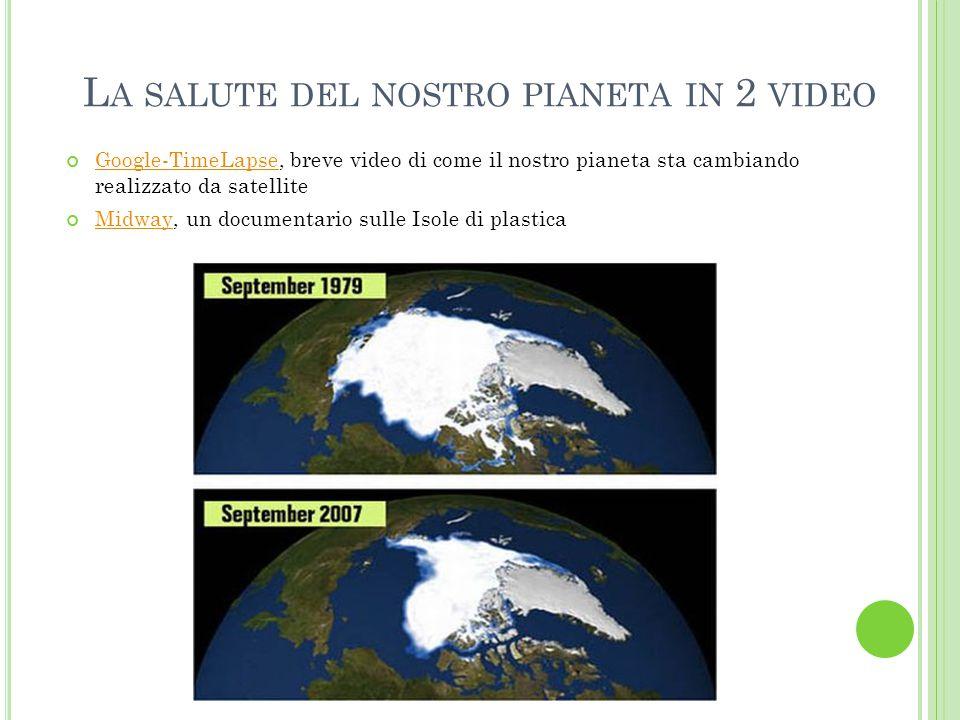 La salute del nostro pianeta in 2 video