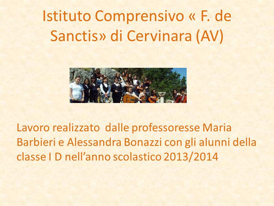 Istituto Comprensivo « F. de Sanctis» di Cervinara (AV)