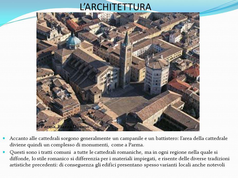 L'ARCHITETTURA Parma, Piazza Duomo.