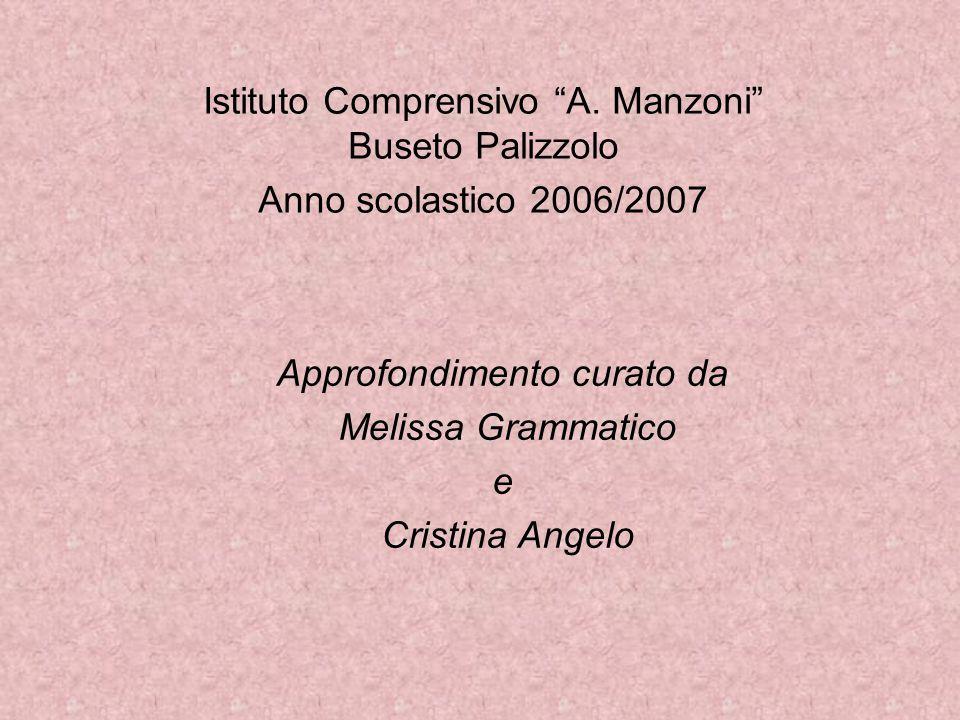 Istituto Comprensivo A. Manzoni Buseto Palizzolo