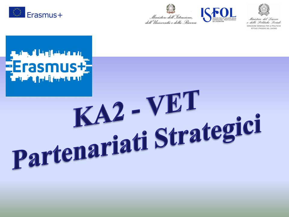 KA2 - VET Partenariati Strategici