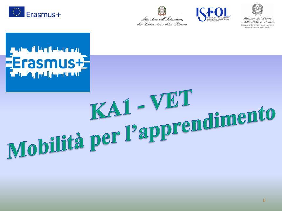 KA1 - VET Mobilità per l'apprendimento