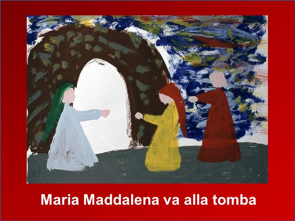 Maria Maddalena va alla tomba