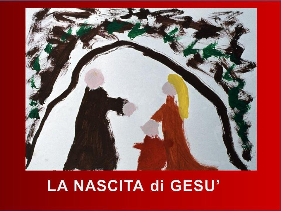 Così Giuseppe e Maria con il suo somarino sono andati alla grotta.