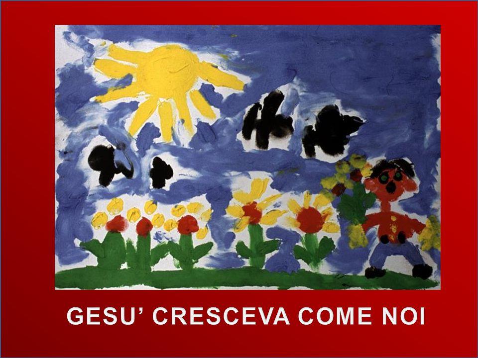 GESU' CRESCEVA COME NOI