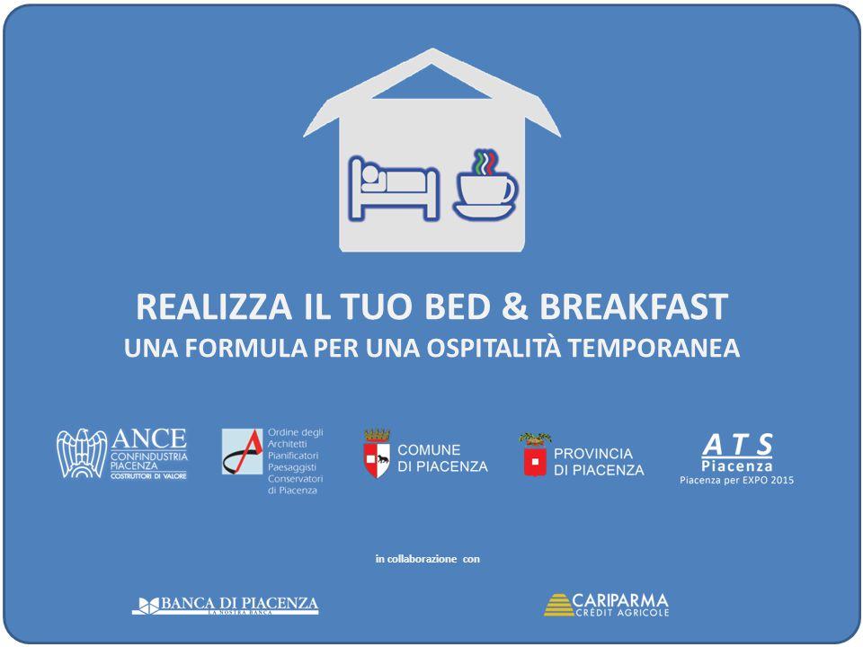 Realizza il tuo bed & breakfast