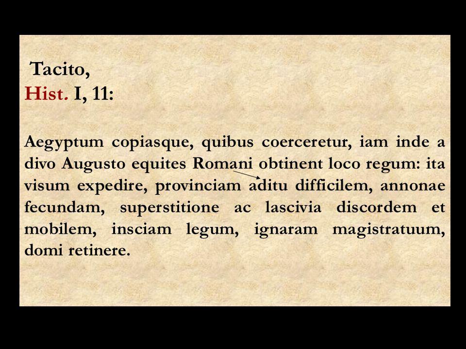 Tacito, Hist. I, 11:
