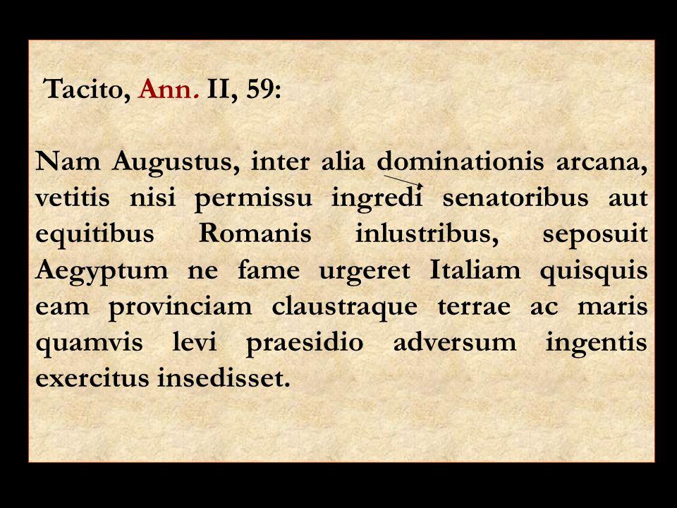 Tacito, Ann. II, 59: