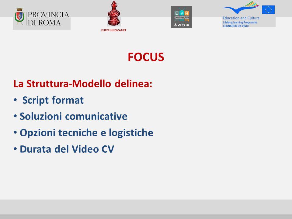 FOCUS La Struttura-Modello delinea: Script format
