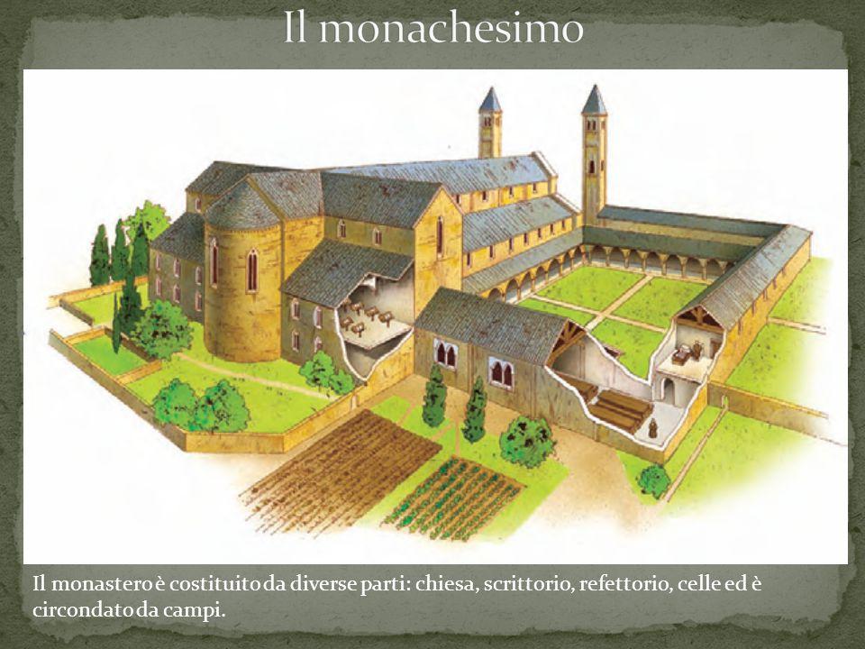 Il monachesimo I monasteri nell Occidente barbarico.