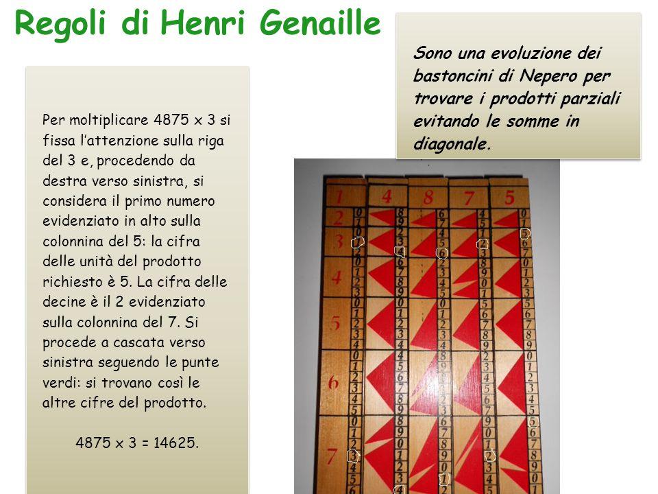 Regoli di Henri Genaille