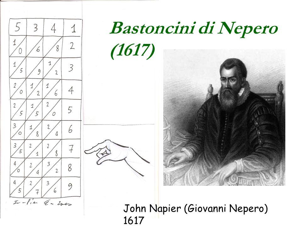 Bastoncini di Nepero (1617)
