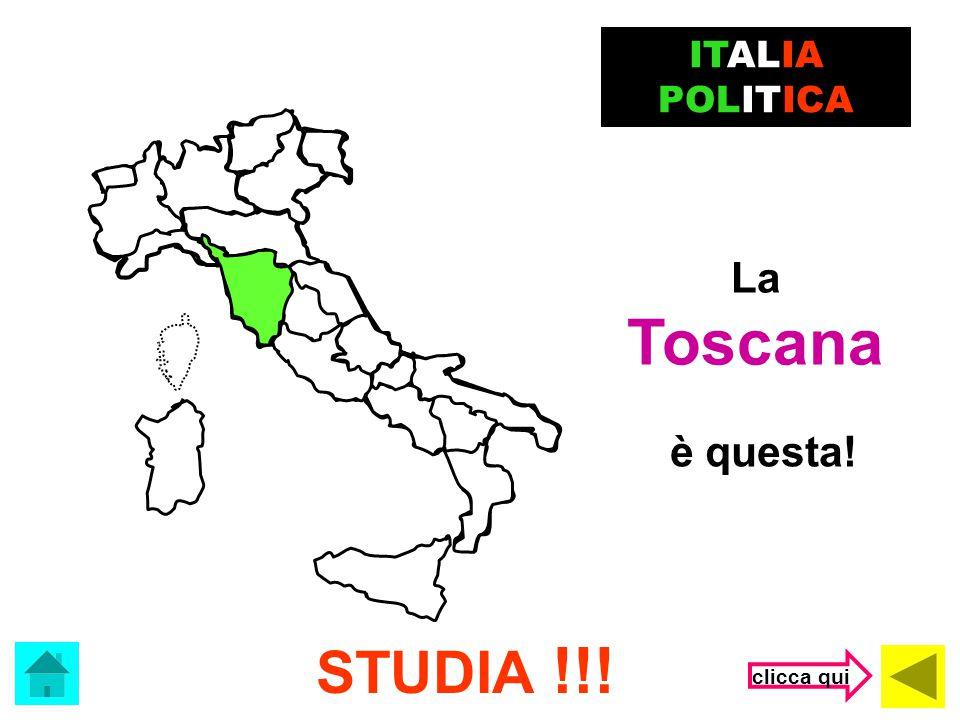 ITALIA POLITICA La Toscana è questa! STUDIA !!! clicca qui