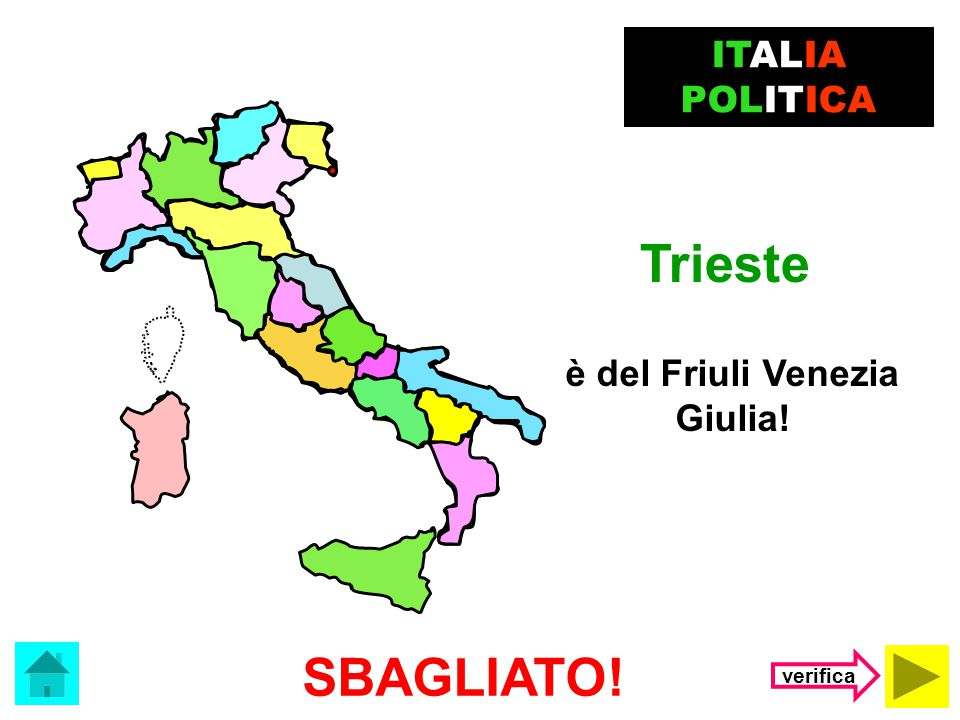 è del Friuli Venezia Giulia!