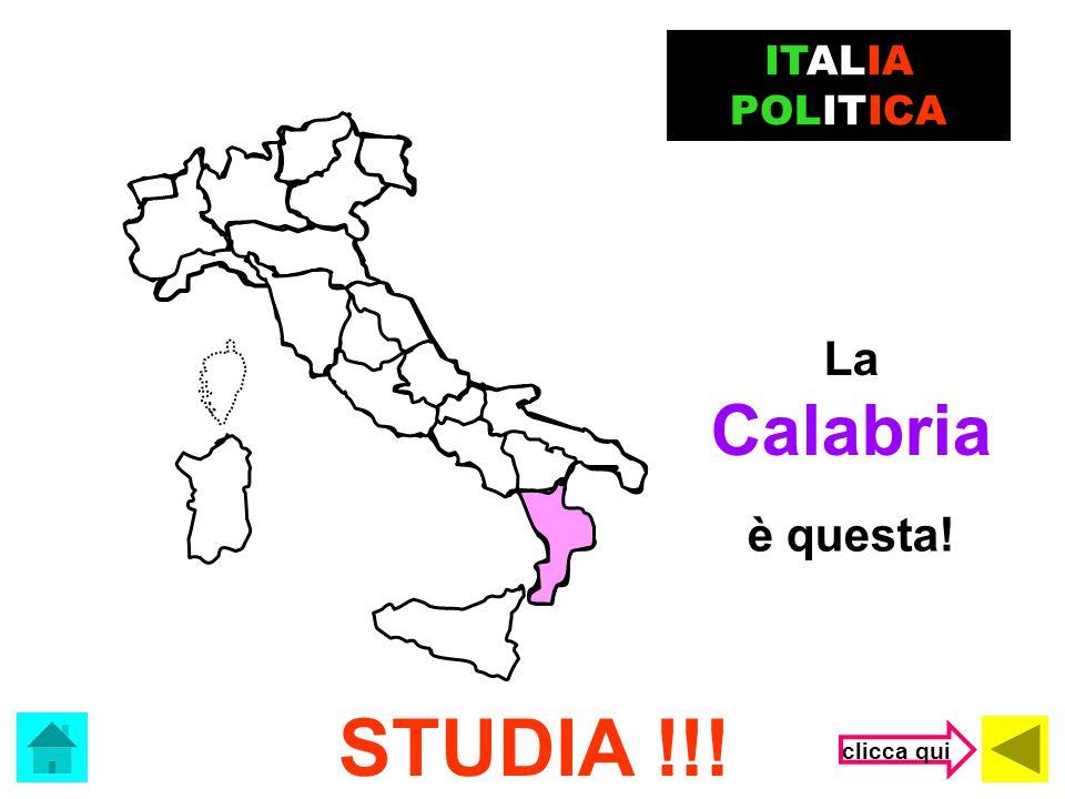 ITALIA POLITICA La Calabria è questa! STUDIA !!! clicca qui