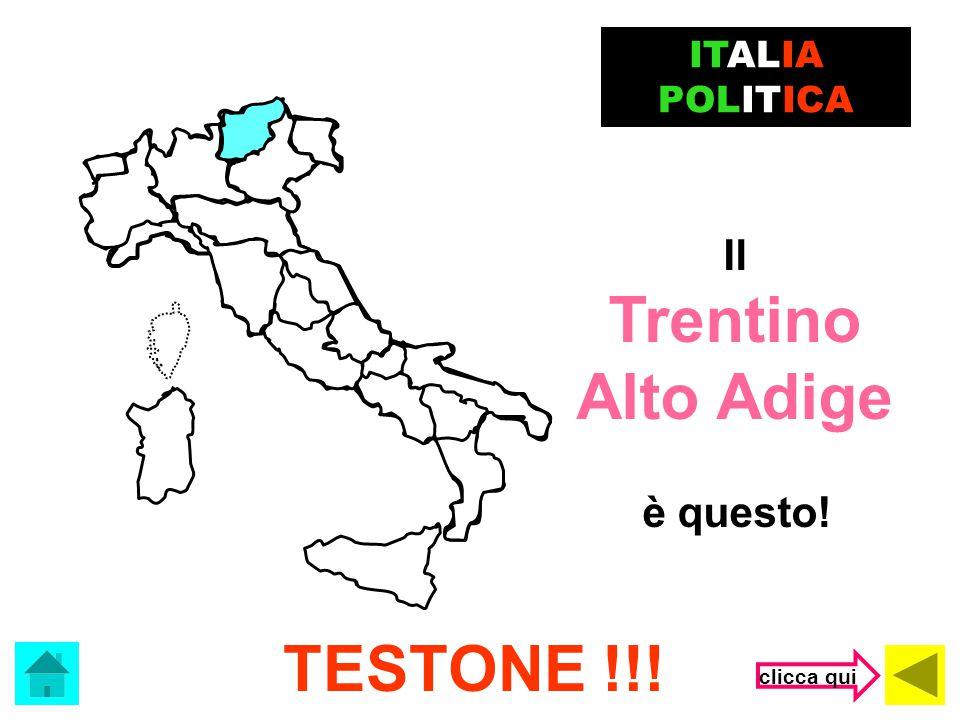 Trentino Alto Adige TESTONE !!!