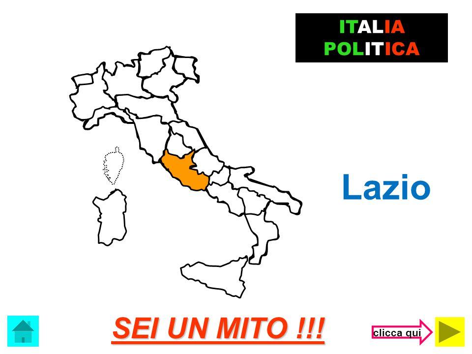 ITALIA POLITICA Lazio SEI UN MITO !!! clicca qui