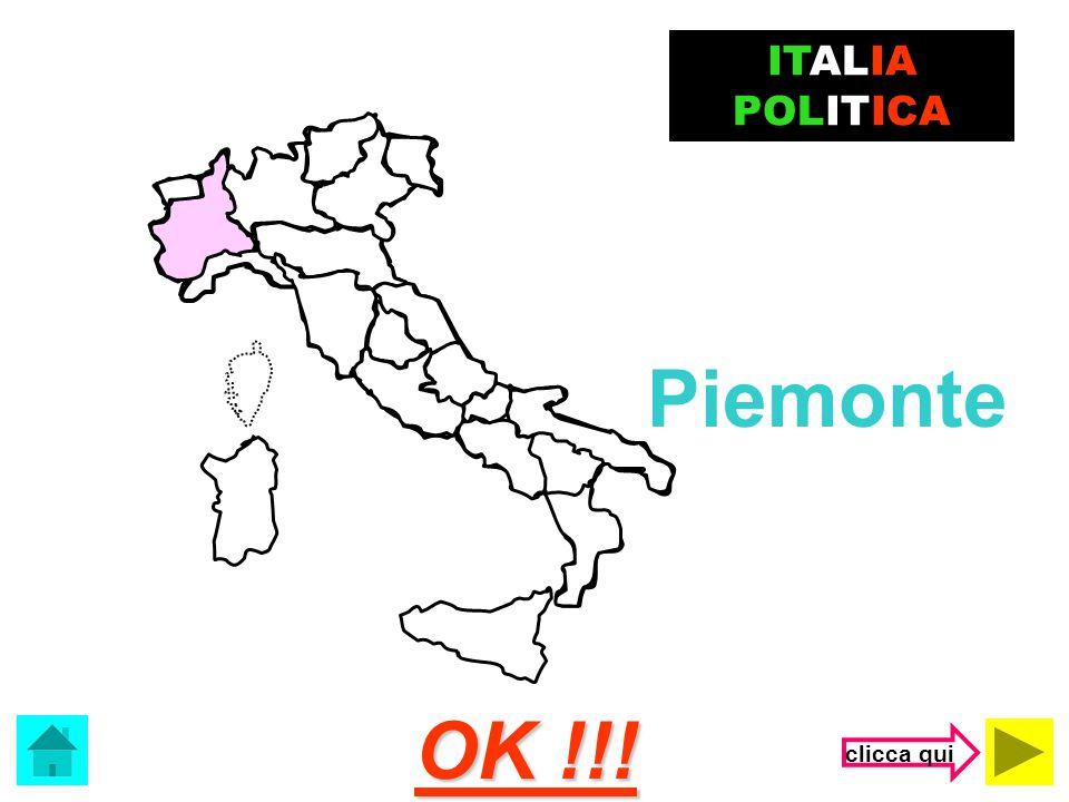 ITALIA POLITICA Piemonte OK !!! clicca qui
