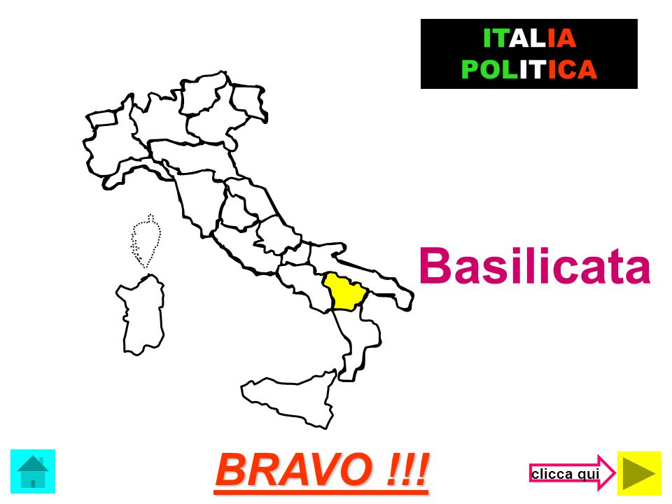 ITALIA POLITICA Basilicata BRAVO !!! clicca qui