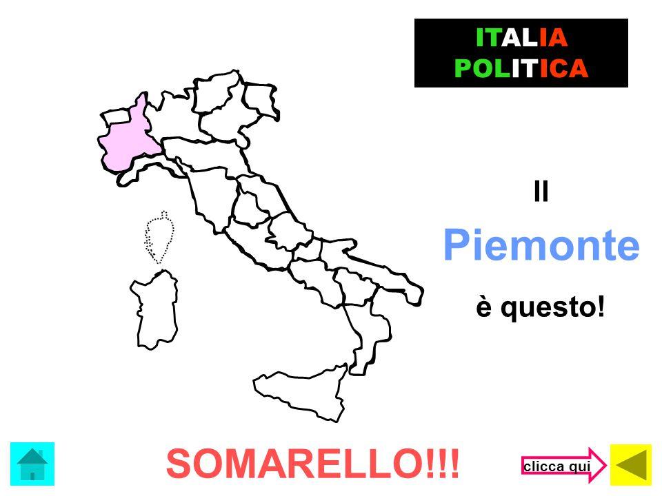 ITALIA POLITICA Il Piemonte è questo! SOMARELLO!!! clicca qui