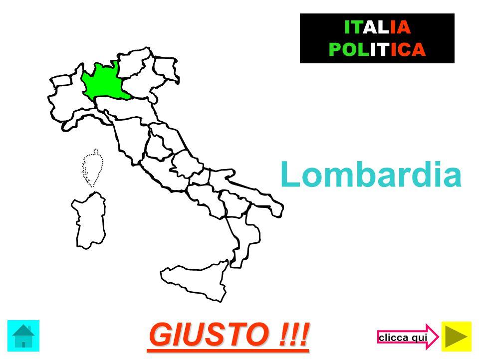 ITALIA POLITICA Lombardia GIUSTO !!! clicca qui