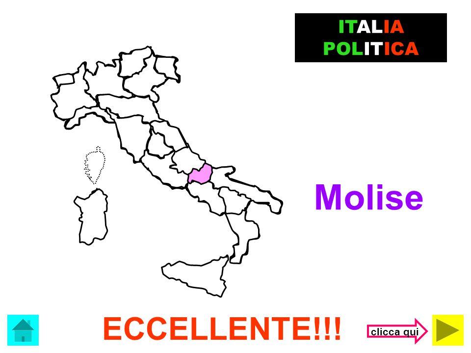 ITALIA POLITICA Molise ECCELLENTE!!! clicca qui