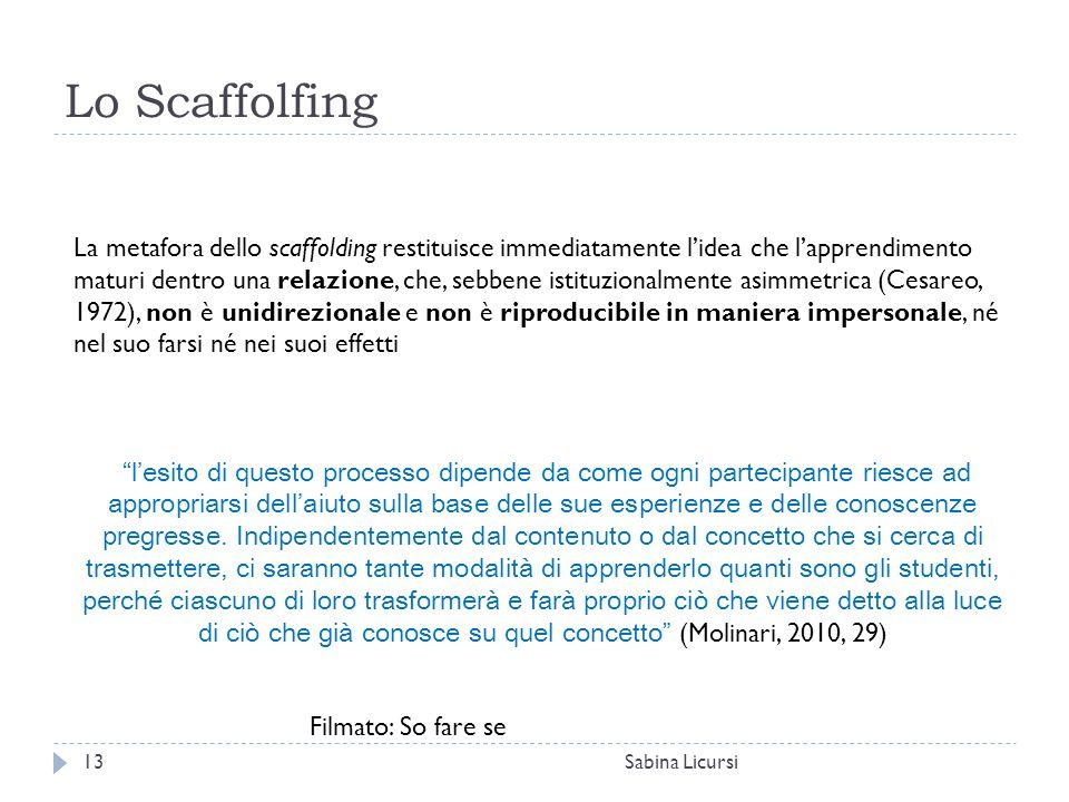 Lo Scaffolfing