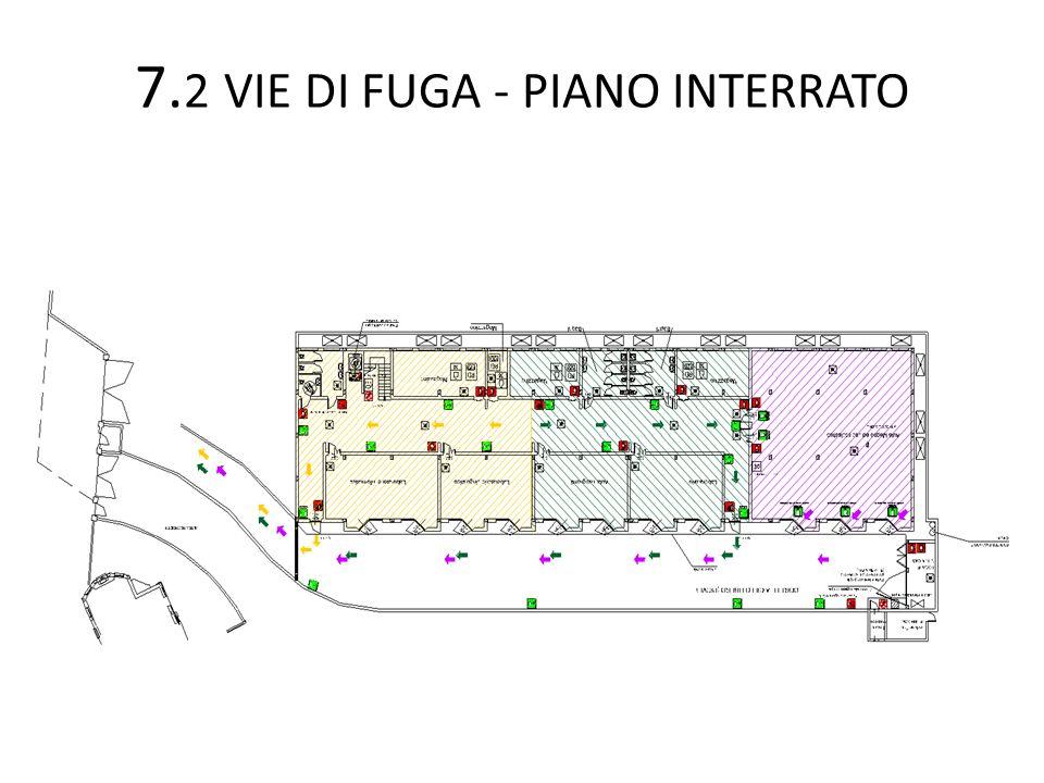 7.2 VIE DI FUGA - PIANO INTERRATO